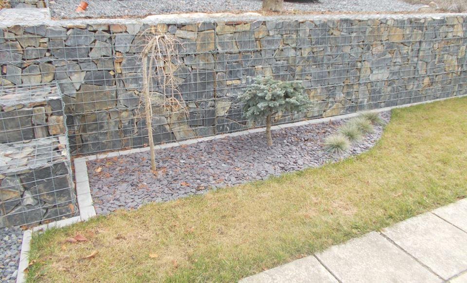 gabiony zpevnění svahu gabionové ploty levně